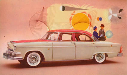 1955 Dodge Custom Royal by Yesterdays-Paper
