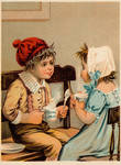 Victorian Advertising - Coffee Talk