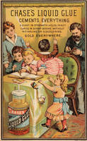 Victorian Advertising - Scrapbooking Glue by Yesterdays-Paper