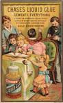 Victorian Advertising - Scrapbooking Glue
