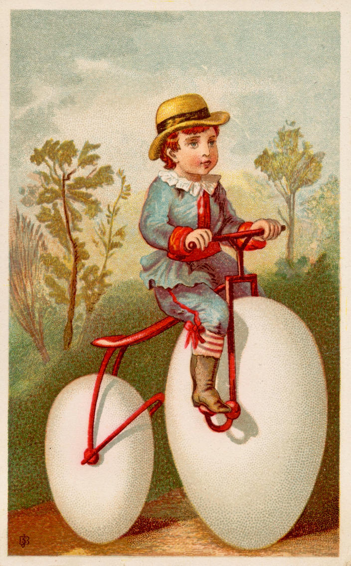 Victorian Advertising - Taking Some Egg-cercise by Yesterdays-Paper