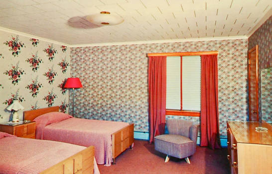 Vintage Motels - Reber's, Barryville NY by Yesterdays-Paper