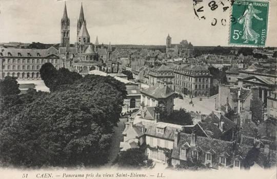 Vintage Europe - Abbaye aux Hommes, Caen