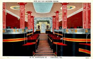 Vintage Chicago - Art Deco Dining Room