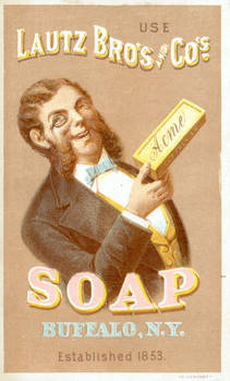 Victorian Advertising - Soap Up Like A Sir