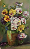 Perfectly Pretty Pansies by Yesterdays-Paper