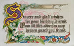 Sincere and Glad Wishes by Yesterdays-Paper