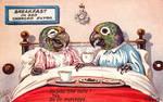 Breakfast in Bed Parrots