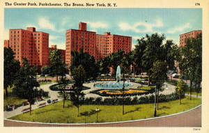 Vintage New York - Parkchester, Bronx by Yesterdays-Paper