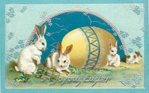 Joyous Easter Blues by Yesterdays-Paper