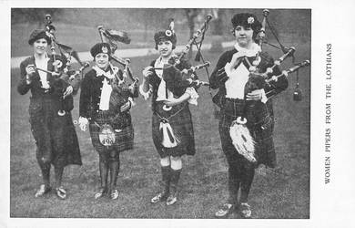 Vintage UK - Lothian Lady Pipers