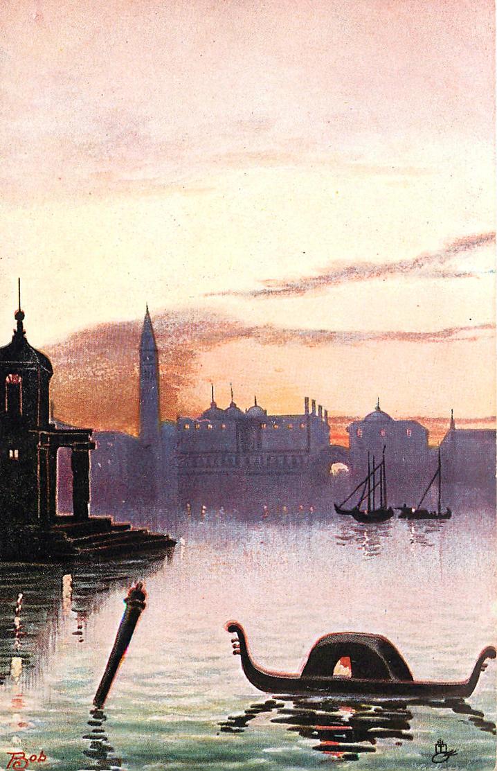 Venetian Sunset by Yesterdays-Paper