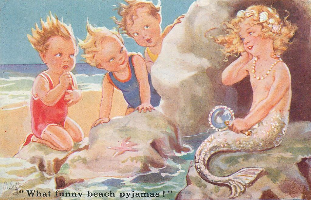 What Funny Beach Pyjamas!