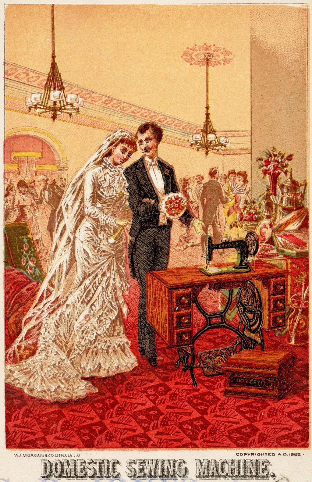 Victorian Advertising Wedding Gift By Yesterdays Paper On Deviantart
