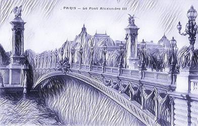 Paper Portals - Le Plus Beau Pont de Paris