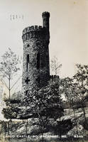 Vintage New England - Casco Castle Tower, Freeport by Yesterdays-Paper