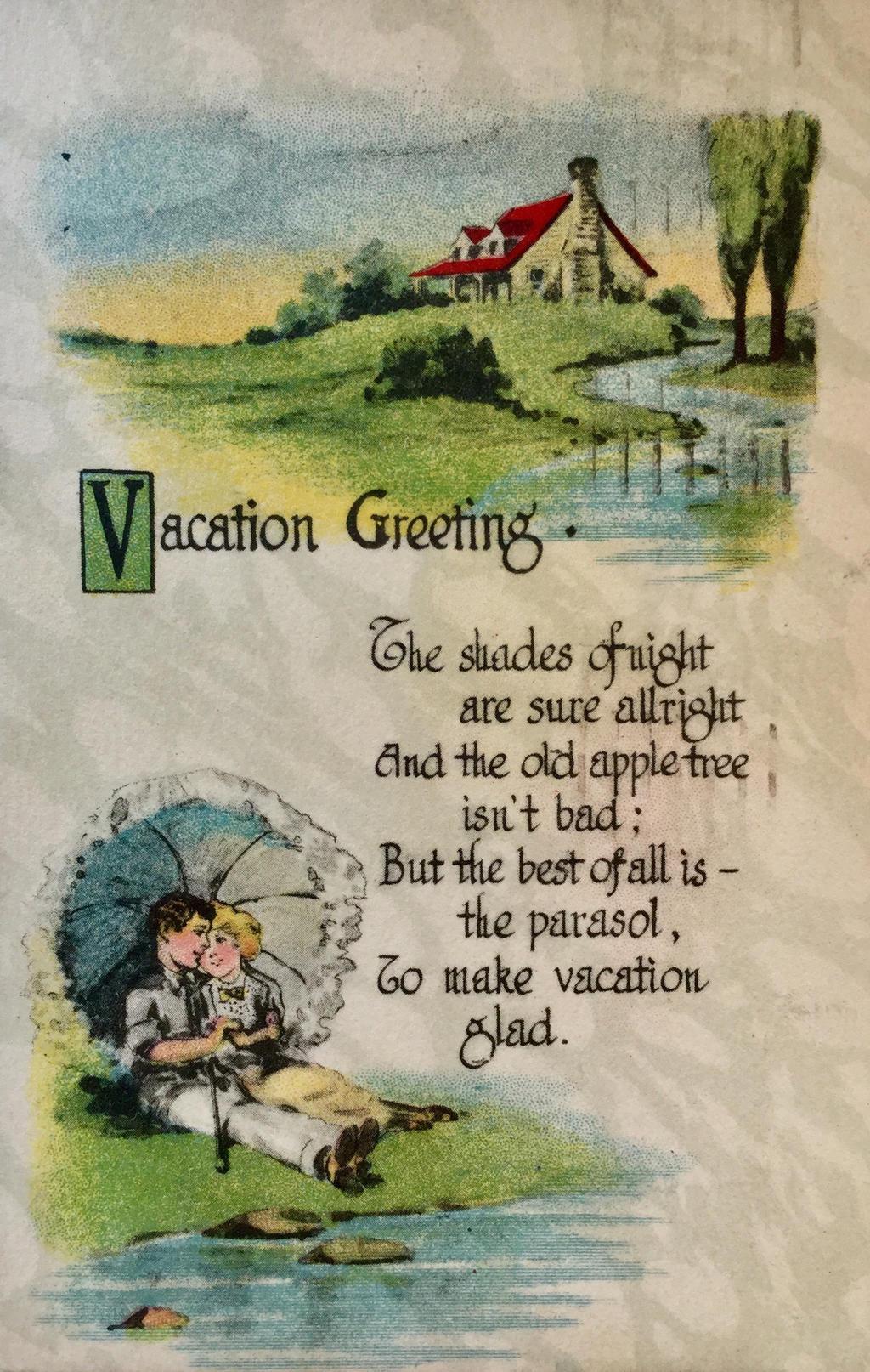 Vacation Greeting