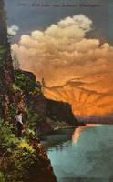 Vintage Washington - Rock Lake Mysteries by Yesterdays-Paper
