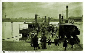 Vintage UK - Walney Ferry, Barrow by Yesterdays-Paper