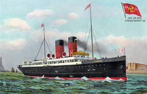 SS Viking - Isle Of Man Steam Packet Co. by Yesterdays-Paper