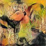 Frida's Llama by Yesterdays-Paper