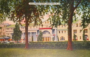 Vintage Hotels - The Hollywood - West End, NJ by Yesterdays-Paper