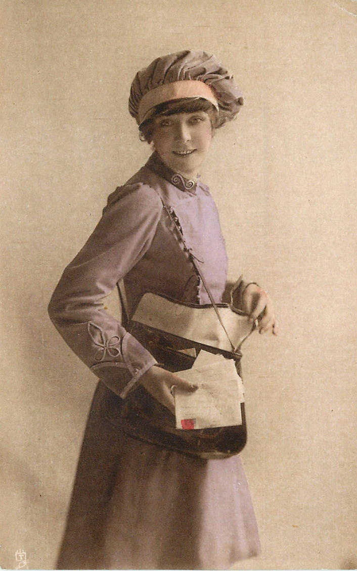 Letter Carrier by Yesterdays-Paper