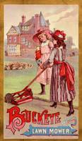 Victorian Advertising - Mower Maids