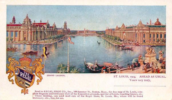 The Grand Lagoon - 1904 World's Fair