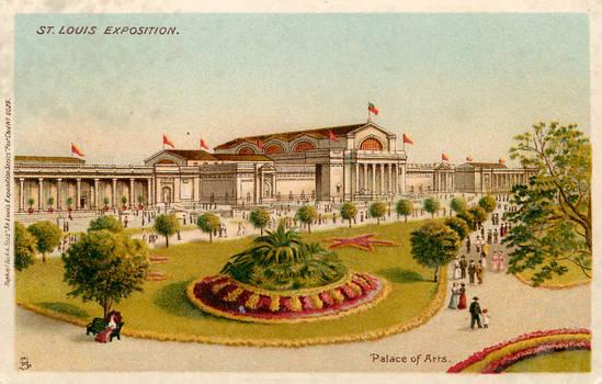 The Palace of Fine Arts - 1904 World's Fair