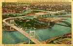 Vintage New York - Tri-Boro and Hell Gate Bridges