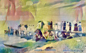 Paper Portals - Quai de Ferry by Yesterdays-Paper