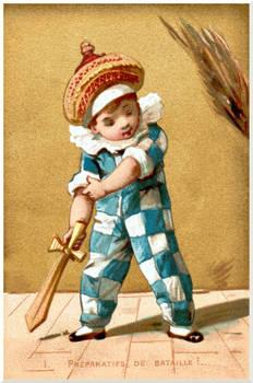 Victorian Advertising - Un Petit Duelliste