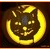 Vintage Pumpkin Carving Icon - Black Cat by Yesterdays-Paper