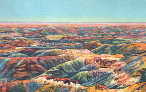 Vintage Arizona - The Painted Desert by Yesterdays-Paper