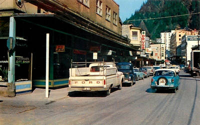 Vintage Alaska - Franklin Street, Juneau