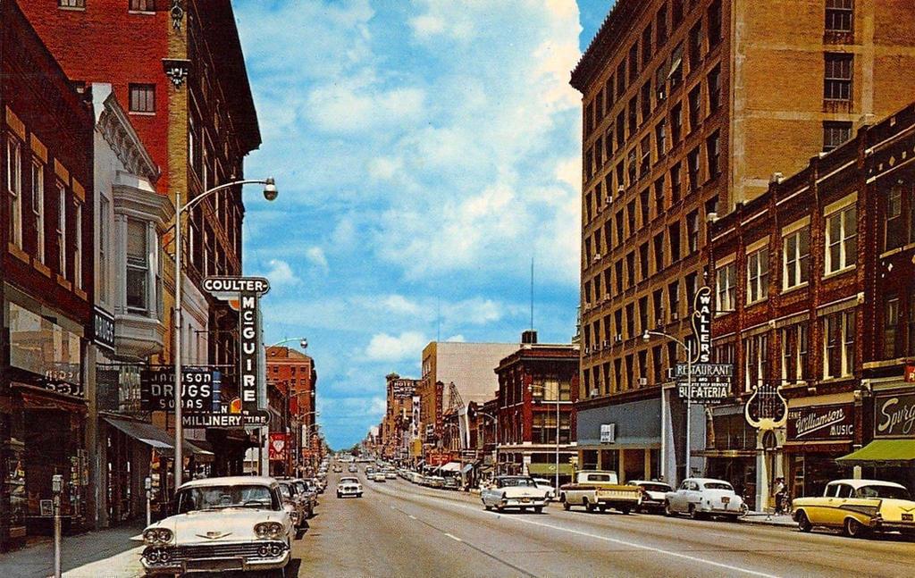 Vintage Missouri - Main Street, Joplin