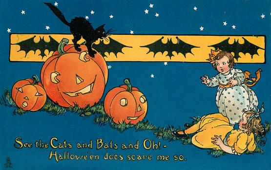 Hallowe'en Does Scare Us So!