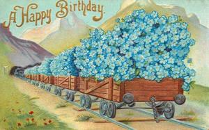 Big Railroad Birthday Blues by Yesterdays-Paper