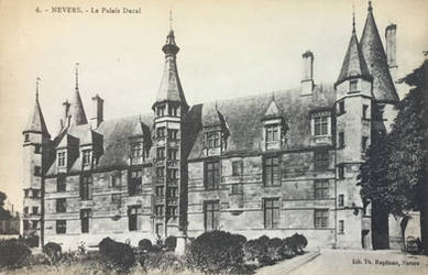 Vintage Europe - Palais Ducal de Nevers