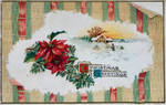 Vintage Christmas - Poinsettia Peel Back