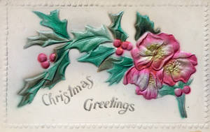 Vintage Christmas - Shiny Brite and Blooming by Yesterdays-Paper