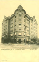 Vintage Hotels - The Chancellor, Parkersburg WV by Yesterdays-Paper