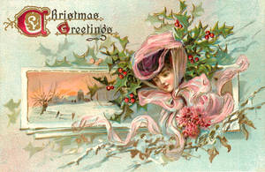 Vintage Christmas - Sentimental Enchantment by Yesterdays-Paper
