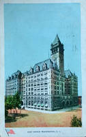 Vintage Washington DC - Old Post Office Tower by Yesterdays-Paper