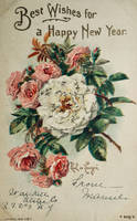 De Longpre's New Year Roses by Yesterdays-Paper