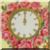 Vintage Rose Clock Icon