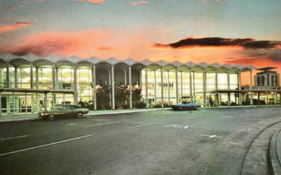 Vintage California - San Jose Municipal Airport