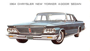 1964 Chrysler New Yorker Sedan 4-Door by Yesterdays-Paper