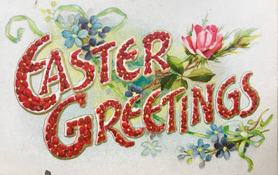 Red Letter Easter Greetings by Yesterdays-Paper